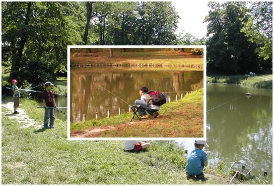 Stage initiation pêche enfant